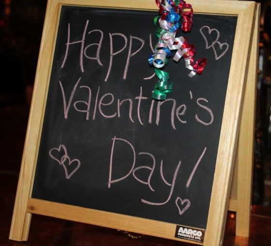 Happy Valentine's sign